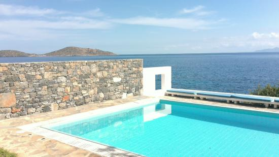 Elounda Peninsula All Suite Hotel : our private pool