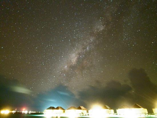 Veligandu Island Resort & Spa: 圧巻の天の川