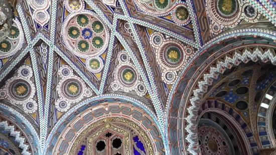 Firenze tartomány, Olaszország: Stanza del castello di Sammezzano