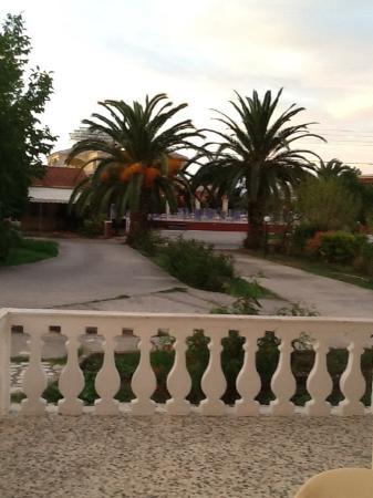 Takis & Efi Apartments: The driveway