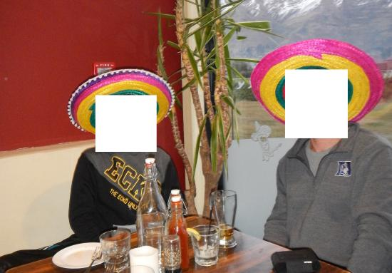 AmiGos Mexican Grill : Having a bit of laugh