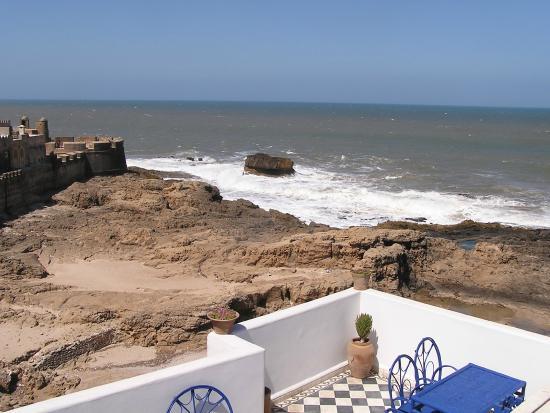 Dar Al Bahar : Terrace Ocean View