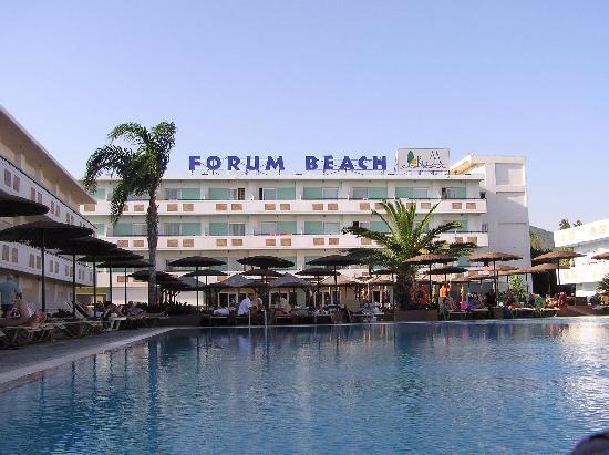 пляж - Picture of Dodeca Sea Resort by Forum Hotels, Ialyssos - TripAdvisor