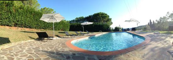 Il Paretaio: La piscina del Paretaio