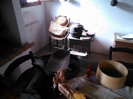 Rubano, Italy: Interno del casone