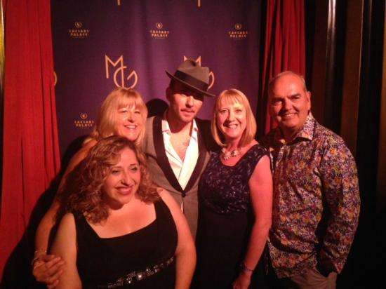 Amazing gorgeous and simply mesmerizing picture of matt goss las matt goss great night out in the gossy room m4hsunfo