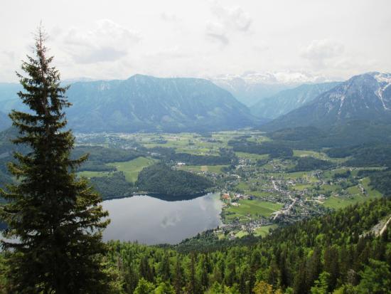 Altaussee, Österreich: Panorama Loser Str. vom Parkplatz aus gesehen