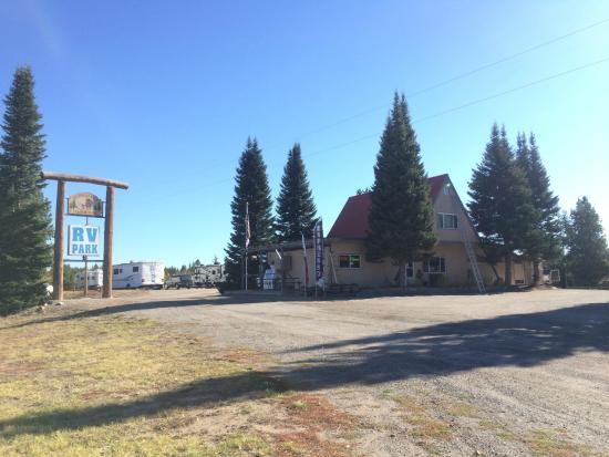 Buffalo Run Campground : From road - U.S.20