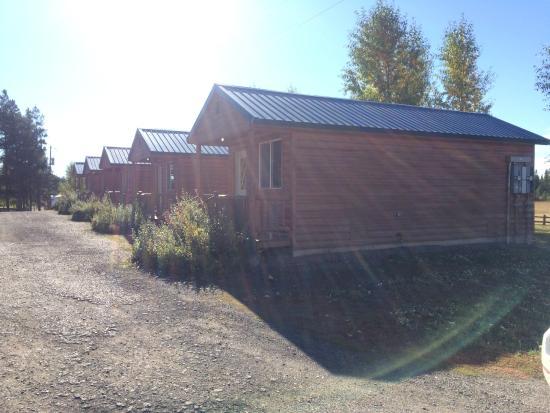 Buffalo Run Campground : Cabins