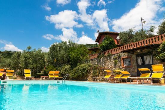 Pieve a Nievole, Italija: Swimming Pool