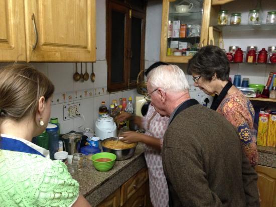 Monica Beesa's Cooking Classes