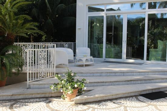 Villa dei D'Armiento: One of the many outdoor spots for relaxing