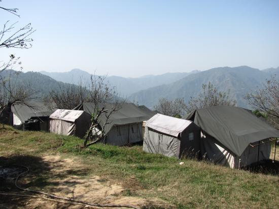 MHE Himalayan Camp, Chamba : Base camp