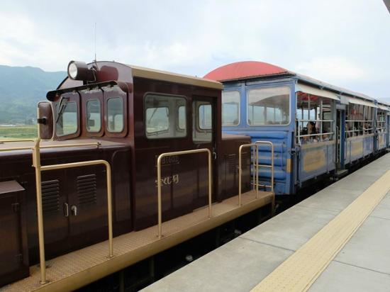 Minamiaso Railway: トロッコ列車