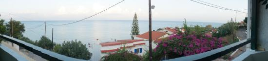 Chrani, Griechenland: View from our table
