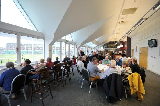 The Cooper Associates County Ground: Our fantastic long room facility