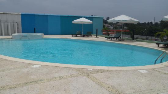Hotel Palm Club: VUE PISCINE