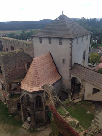 Vysocina Region, Tjekkiet: 窓からの景色