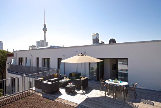 Dachterrassen Berlin dachterrasse style xl apartment bild frederics serviced
