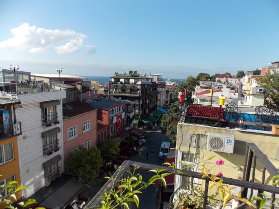 Star Hotel Istanbul: Roof Terrace