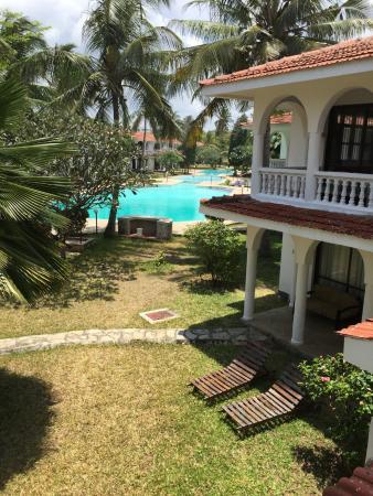 Bahari Dhow Beach Villas: View from Villa
