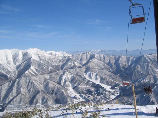 ยูซาวะ-มาชิ , ญี่ปุ่น: 眺望