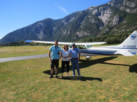 Hagensborg, Canada: Bella Coola Air: a highlight duribg our trip to the Bella Coola valley