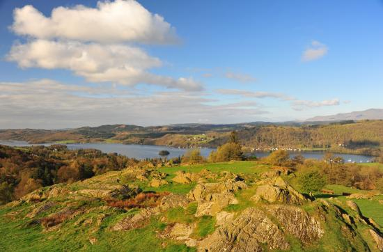 Bowness-on-Windermere, UK: Views of Bowness on Windermere