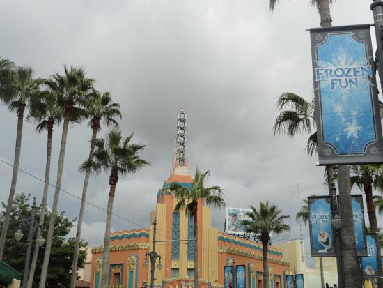 Disney's Hollywood Studios: Parte central del parque