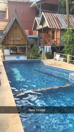 Golden Hill Bungalows : bungalow pool