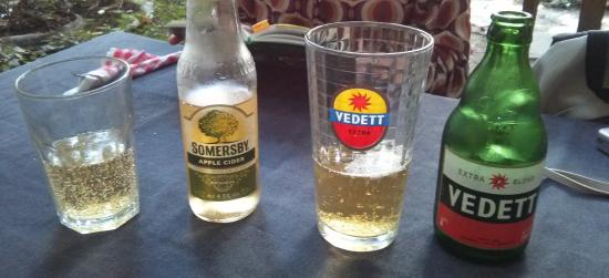 Le Pain Perdu: somersby cider + Vedet white