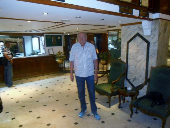 Concorde Hotel: Recepcionen