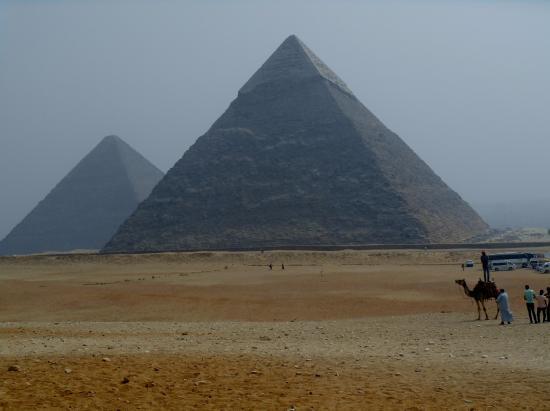 Concorde Hotel: Piramiderna, c:a 30 minuter med bil !