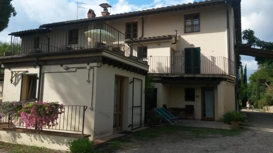 Montespertoli, Italia: La Mandrie di Ripalta appartement avec terrasse