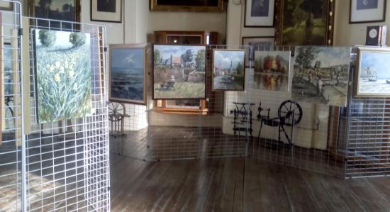 Musée Bruno Danvin: exposition de Jean Luc Choquet en mars 2015