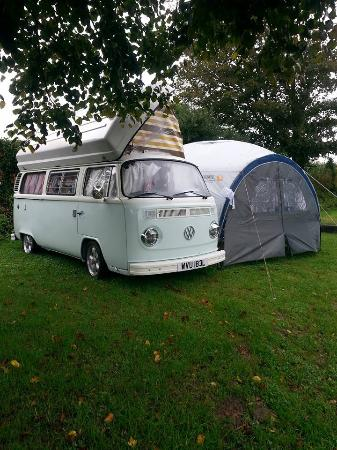 Fauxquets Valley Farm Camping: Generous Pitch