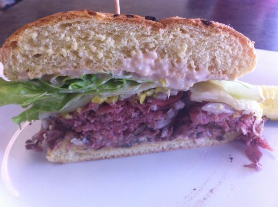 Corkscrew Deli: Caribean Sandwich... Amazingly good