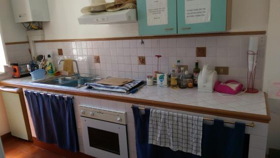 Liola Bed & Breakfast Palermo: You can use kitchen