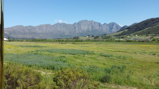 Franschhoek, Sudáfrica: Just one of the many spectacular views en route.