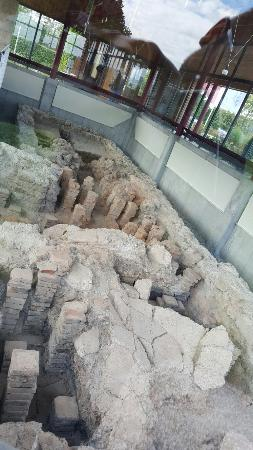 Peiting, Tyskland: Collapsed hypocaust
