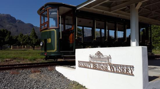 Franschhoek, Sudáfrica: Tram stop