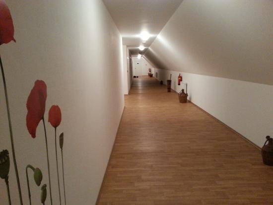 Hotel Madl: the corridor