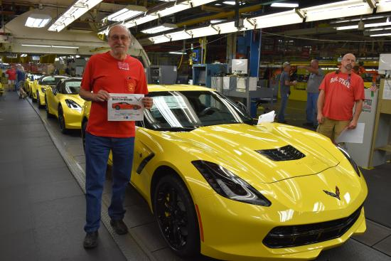 General Motors Corvette Assembly Plant Tours
