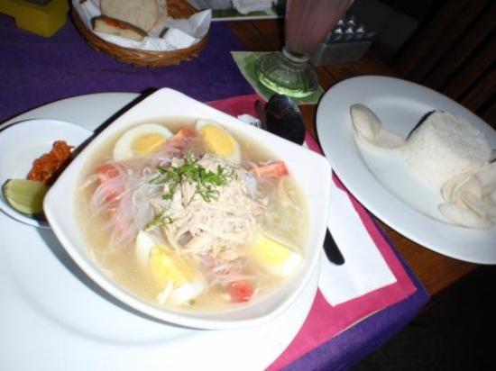 Ketumbar Restaurant & Lounge: 料理