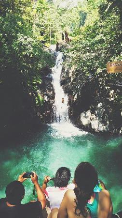 NEWbali: Waterfall slide
