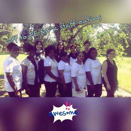 Addo, Sydafrika: Chrislin staff