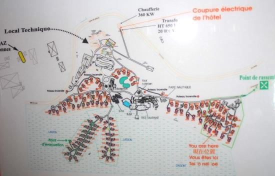 Plan Du Site Picture Of Sofitel Moorea Ia Ora Beach Resort