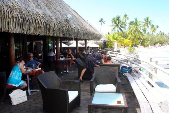 Terrasse Restaurant Bar Picture Of Sofitel Moorea Ia Ora