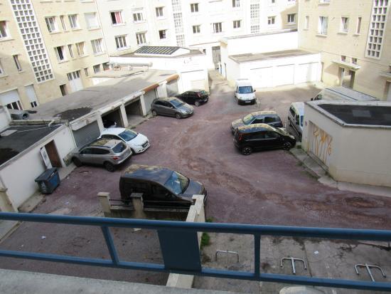 Hotel du Chateau: Vista camera