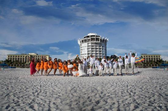 Grand Plaza Beachfront Resort Hotel Conference Center Our Wedding Day At The